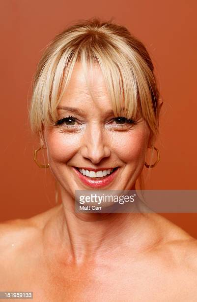 Actress Katherine LaNasa of Jayne Mansfield's Car poses at the Guess Portrait Studio during 2012 Toronto International Film Festival on September 13...