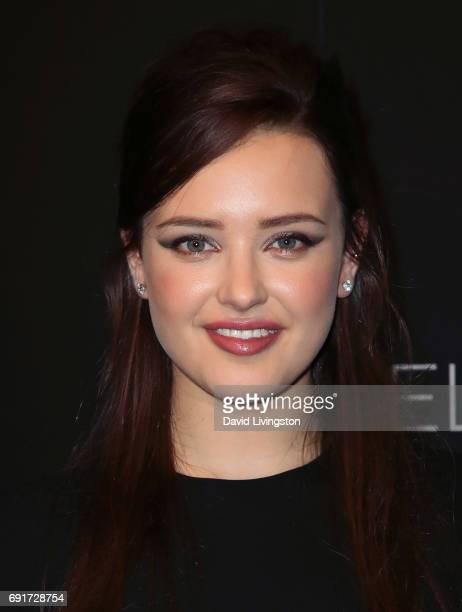 Actress Katherine Langford attends Netflix's '13 Reasons Why' FYC event at Netflix FYSee Space on June 2 2017 in Beverly Hills California