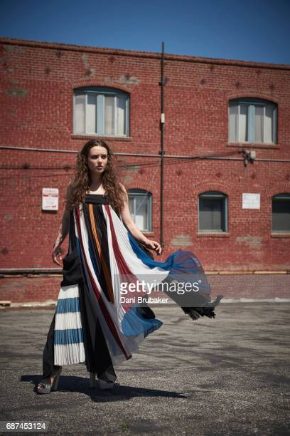 Actress Katherine Langford is photographed for The Last Magazine on April 1 2017 in Los Angeles California