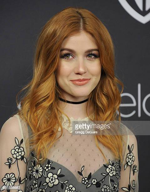 Actress Katherine McNamara arrives at the 18th Annual PostGolden Globes Party hosted by Warner Bros Pictures and InStyle at The Beverly Hilton Hotel...