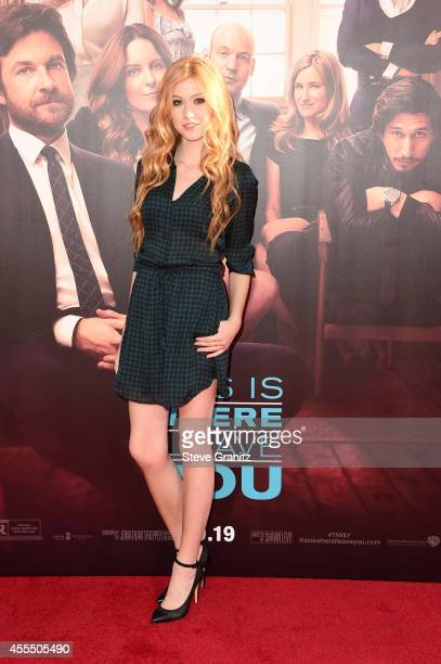 Actress Katherine McNamara arrives at the This Is Where I Leave You premiere at TCL Chinese Theatre on September 15 2014 in Hollywood California