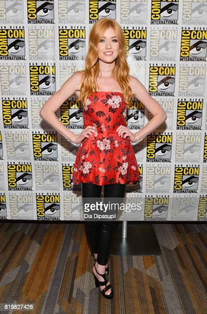 Actress Katherine McNamara at the Freeform press line for 'Stitchers' and 'Shadowhunters' during ComicCon International 2017 at Hilton Bayfront on...
