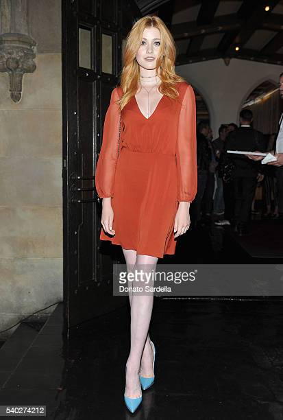 Actress Katherine McNamara attends Max Mara Celebrates Natalie Dormer The 2016 Women In Film Max Mara Face Of The Future at Chateau Marmont on June...