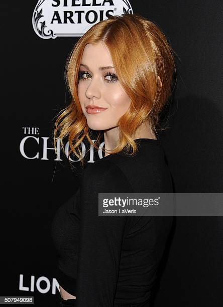 Actress Katherine McNamara attends the premiere of 'The Choice' at ArcLight Cinemas on February 1 2016 in Hollywood California
