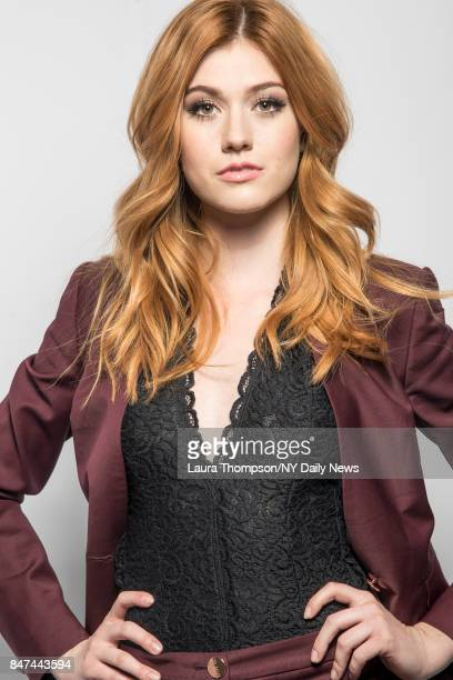 Actress Katherine McNamara is photographed for NY Daily News on October 8 2016 at Comic Con in New York City CREDIT MUST READ Laura Thompson/New York...