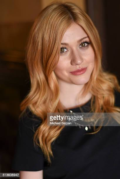 Actress Katherine McNamara poses for portrait at the Mayim Bialik and FabLab announce first ever TV series aimed at tween and teen girls at The...