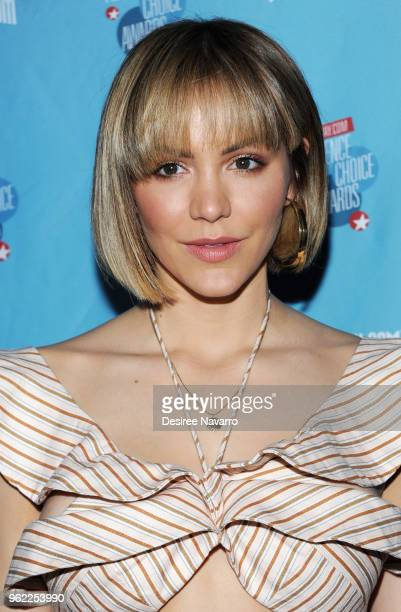 Actress Katherine McPhee attends Broadwaycom Audience Choice Awards at 48 Lounge on May 24 2018 in New York City