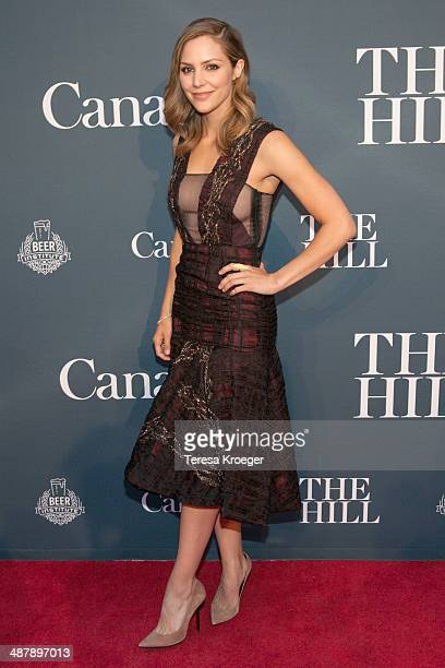 Actress Katherine McPhee attends The Hill's and Entertainment Tonight's celebration of the 100th White House Correspondents' Association Dinner...