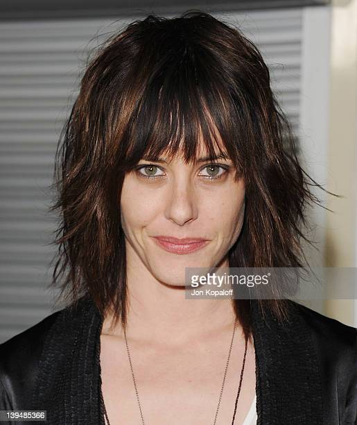 """Actress Katherine Moennig arrives at the Los Angeles Premiere """"Gone"""" at ArcLight Hollywood on February 21, 2012 in Hollywood, California."""