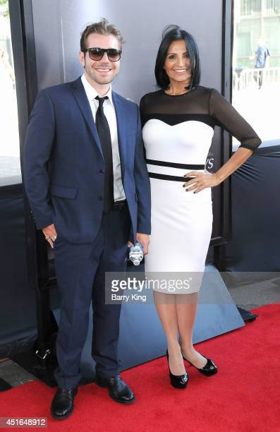 Actress Katherine Narducci and guest attend the 2014 Los Angeles Film Festival closing night premiere of 'Jersey Boys' at Premiere House on June 19...