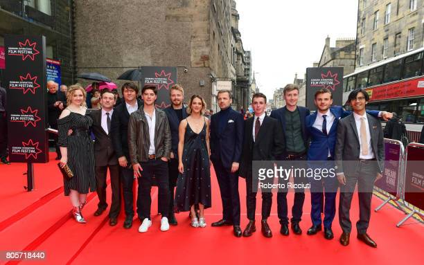 Actress Katherine Pearce producer Mark Lane producer Orian Williams actor Finney Cassidy actor Jack Lowden actress Jessica Brown Findlay director...
