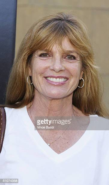 Actress Katherine Ross attend the Los Angeles premiere of Donnie Darko The Director's Cut on July 15 2004 at the Egyptian Theatre in Hollywood...