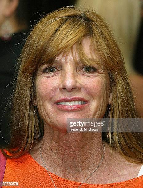 Actress Katherine Ross attends the Academy of Motion Picture Arts and Sciences' screening of the 1967 Best Picture Nominee The Graduate on May 6 2005...