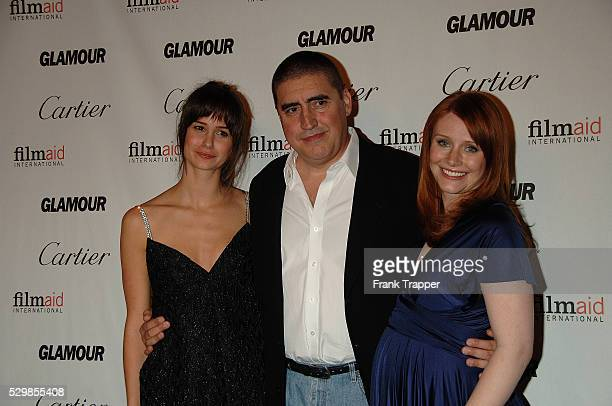 Actress Katherine Watersten actor Alfred Molina and actress Bryce Dallas Howard arrives at Reel Moments a series of short films written and directed...