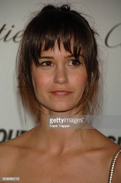 Actress Katherine Watersten arrives at Reel Moments a series of short films written and directed by women in Hollywood held at the Directors Guild of...