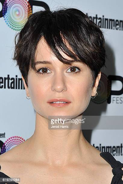 Actress Katherine Waterston attends Entertainment Weekly's Popfest at The Reef on October 30 2016 in Los Angeles California