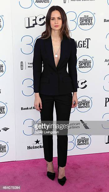 Actress Katherine Waterston attends the 2015 Film Independent Spirit Awards on February 21 2015 in Santa Monica California