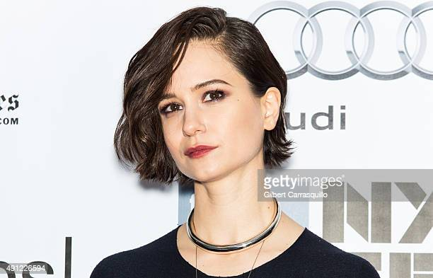 Actress Katherine Waterston attends the 53rd New York Film Festival 'Steve Jobs' at Alice Tully Hall Lincoln Center on October 3 2015 in New York City