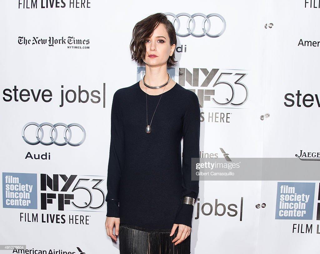 """53rd New York Film Festival - """"Steve Jobs"""""""