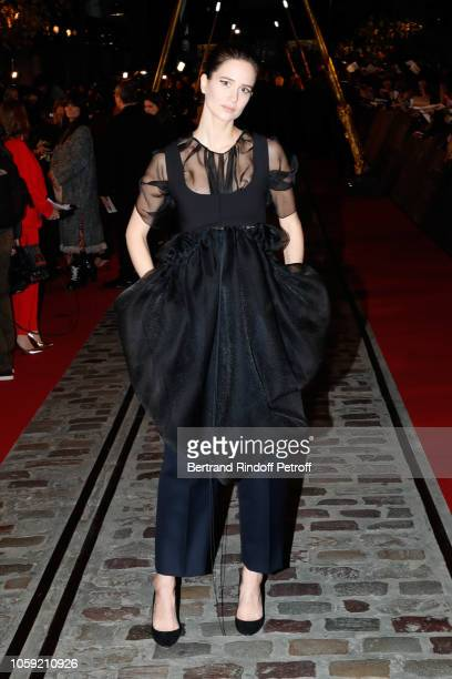 Actress Katherine Waterston attends the Fantastic Beasts The Crimes of Grindelwald World Premiere at UGC Cine Cite Bercy on November 8 2018 in Paris...