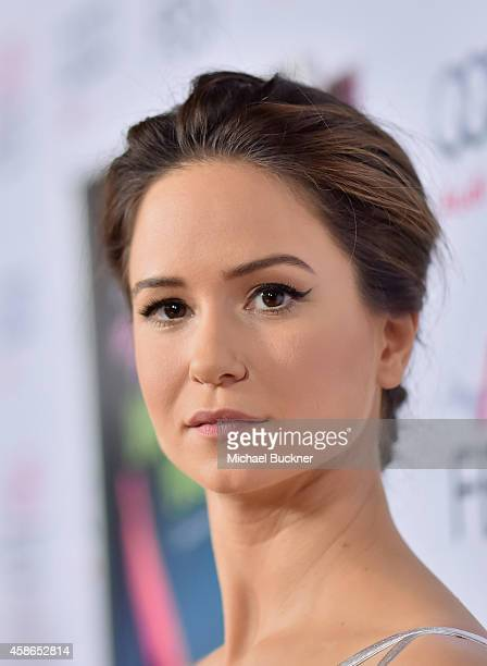 Actress Katherine Waterston attends the screening of 'Inherent Vice' during AFI FEST 2014 presented by Audi at the Egyptian Theatre on November 8...