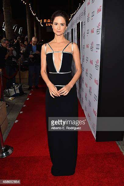 Actress Katherine Waterston attends the screening of Inherent Vice during AFI FEST 2014 presented by Audi at the Egyptian Theatre on November 8 2014...