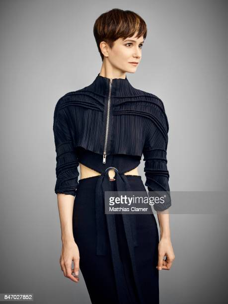 Actress Katherine Waterston from 'Fantastic Beasts and Where To Find Them' is photographed for Entertainment Weekly Magazine on July 23 2016 at Comic...