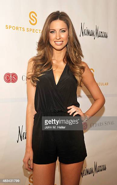 Actress Katherine Webb attends the Cedars Sinai Sports Spectacular Women's Luncheon at the Beverly Hills Hotel on April 8 2014 in Beverly Hills...