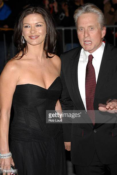 Actress Katherine Zeta Jones and actor Michael Douglas attend the 2007 National Board of Review Awards Gala at Cipriani 42nd street January 15 2007...