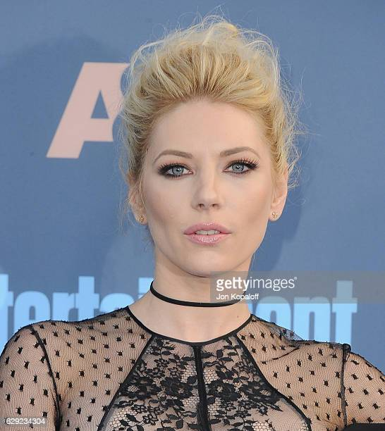 Actress Katheryn Winnick arrives at The 22nd Annual Critics' Choice Awards at Barker Hangar on December 11 2016 in Santa Monica California