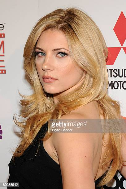 Actress Katheryn Winnick arrives at the premiere of Harold at the 62nd and Broadway Cinema on April 30 2008 in New York City