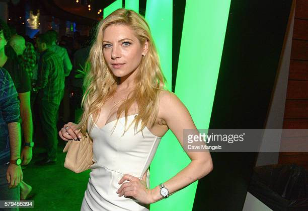 Actress Katheryn Winnick attends Entertainment Weekly's ComicCon Bash held at Float Hard Rock Hotel San Diego on July 23 2016 in San Diego California...