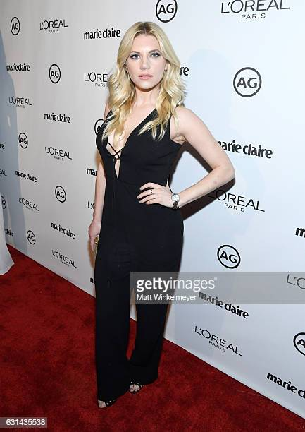 Actress Katheryn Winnick attends Marie Claire's Image Maker Awards 2017 at Catch LA on January 10 2017 in West Hollywood California