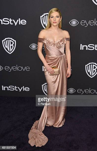 Actress Katheryn Winnick attends the 18th Annual PostGolden Globes Party hosted by Warner Bros Pictures and InStyle at The Beverly Hilton Hotel on...