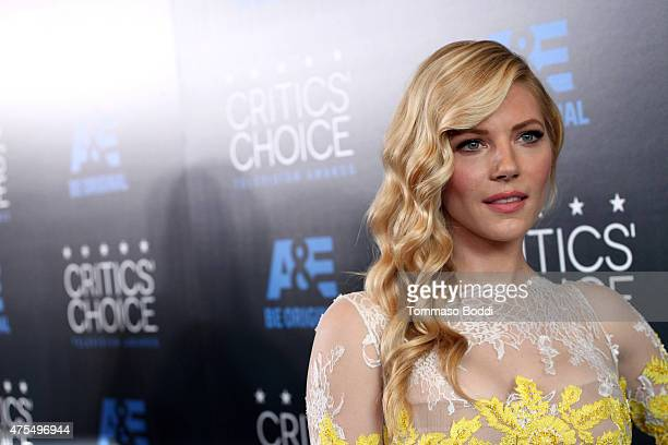 Actress Katheryn Winnick attends the 5th annual Critics' Choice Television Awards at The Beverly Hilton Hotel on May 31 2015 in Beverly Hills...
