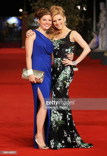 Actress Katheryn Winnick attends the 'A Glimpse Inside The Mind Of Charles Swan III' Premiere during the 7th Rome Film Festival at the Auditorium...