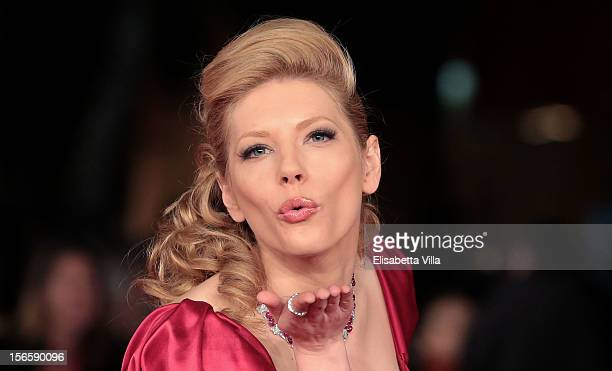 Actress Katheryn Winnick attends the Closing Ceremony during the 7th Rome Film Festival at Auditorium Parco Della Musica on November 17 2012 in Rome...