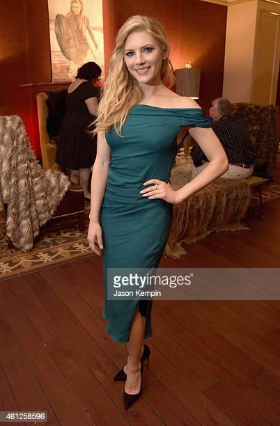 Actress Katheryn Winnick attends the JAN 2015 TCA History Vikings Party on January 9 2015 in Pasadena California