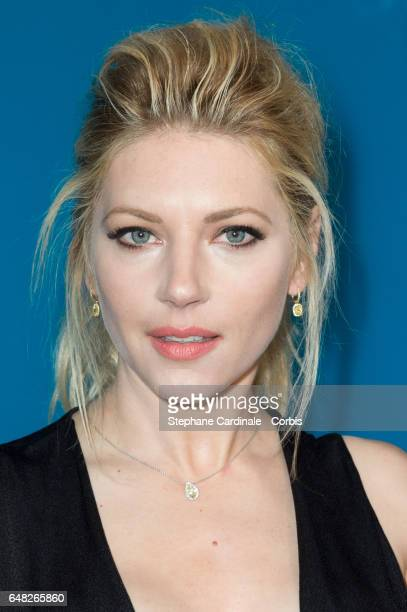 Actress Katheryn Winnick attends the Valentino show as part of the Paris Fashion Week Womenswear Fall/Winter 2017/2018 on March 5 2017 in Paris France