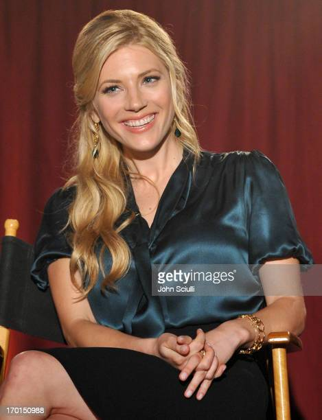 Actress Katheryn Winnick attends the 'Vikings' For Your Consideration event at the Leonard Goldenson Theatre on June 7 2013 in Hollywood California