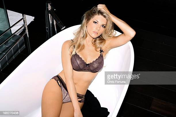 Actress Katheryn Winnick is photographed for Maxim Magazine on September 22 2010 in Los Angeles California