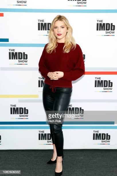 Actress Katheryn Winnick visits 'The IMDb Show' on November 30 2018 in Studio City California This episode of 'The IMDb Show' airs on December 20 2018