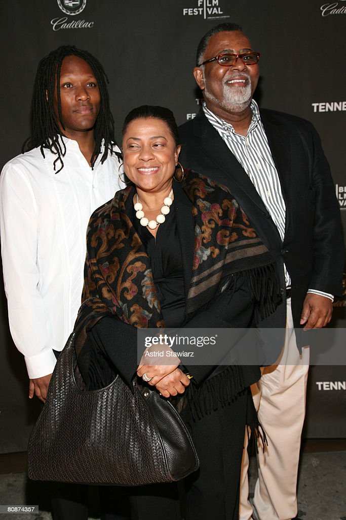Actress Kathleen Battle (C) and guest attend the after party for 'Tennessee' hosted by Cadillac at Tenjune lounge during the 2008 Tribeca Film Festival on April 26, 2008 in New York City.