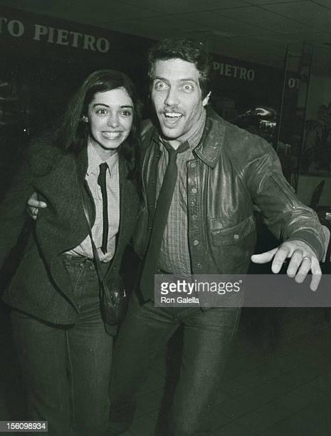 Actress Kathleen Beller and husband Michael Hoit attending 'Grand Opening of Santopietro's Restaurant' on January 21 1983 in Calabasas California