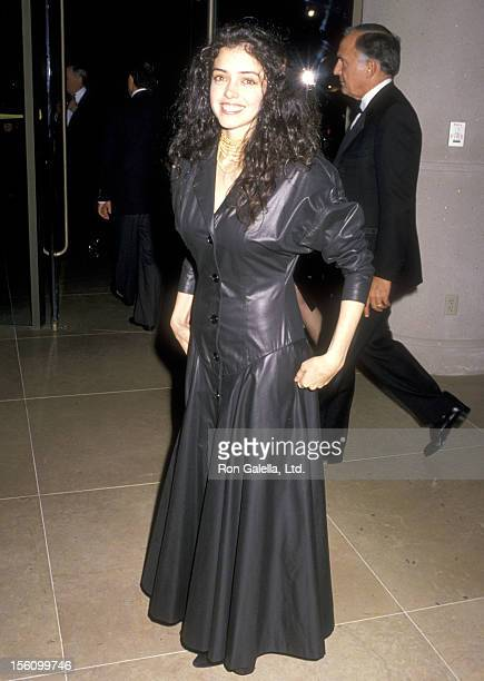 Actress Kathleen Beller attends the 18th Annual American Film Institute Lifetime Achievement Award Salute to Sir David Lean on March 8 1990 at...