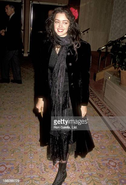 Actress Kathleen Beller attends the American Civil Liberties Union Dinner on December 2 1989 at Registry Hotel in Los Angeles California