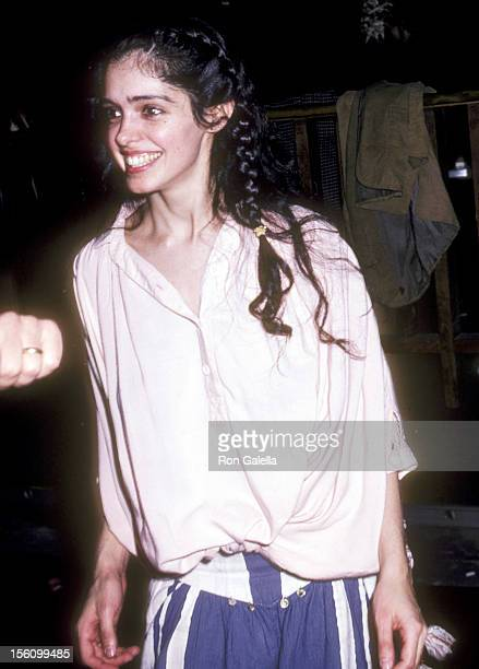 Actress Kathleen Beller attends 'The Rocky Horror Picture Show' Opening Night Party on February 24 1981 at Club Lingerie in Hollywood California