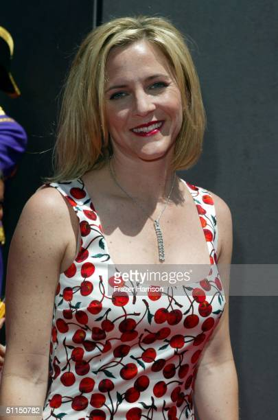 Actress Kathleen Marshall arrives at the The Princess Diaries 2 Royal Engagement Premiere held at Downtown Disneyland e on August 7 2004 in Anaheim...
