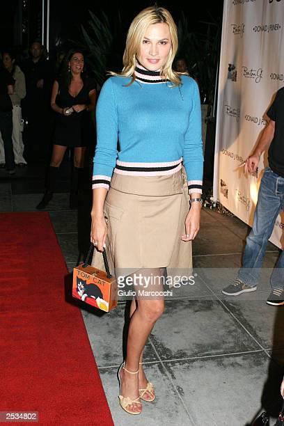 Actress Kathleen McClellan arrives at Donald J Pliner LA Flagship Boutique Opening September 24 2003 in Beverly Hills California