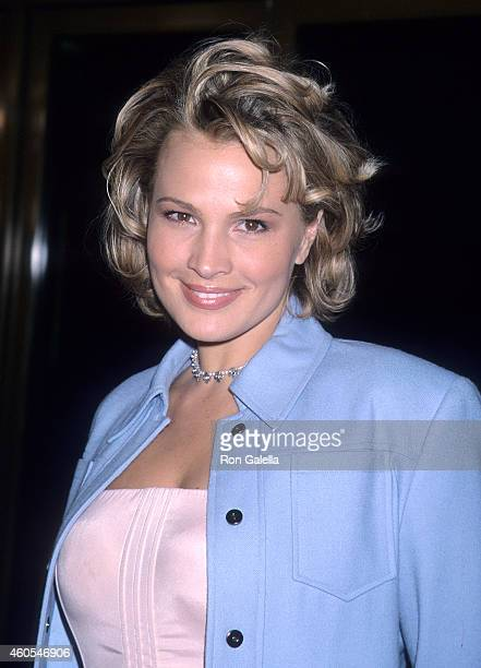 Actress Kathleen McClellan attends the Snow Falling on Cedars Westwood Premiere on December 9 1999 at the Mann National Theatre in Westwood California
